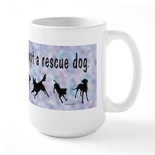 Adopt A Rescue Dog (Blue) Mug