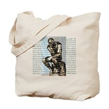 Rodin / Neruda Tote Bag