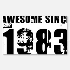 Awesome Since 83 Decal