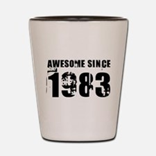 Awesome Since 83 Shot Glass
