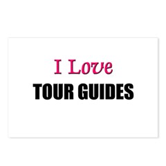 I Love TOUR GUIDES Postcards (Package of 8)