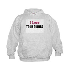 I Love TOUR GUIDES Hoodie