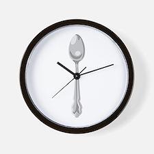 Spoon Cutlery Wall Clock