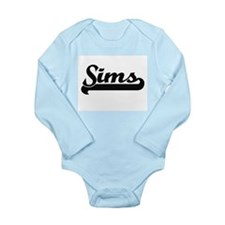 Sims surname classic retro design Body Suit