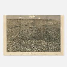 Denver, Colorado 1887 Postcards (Package of 8)