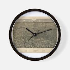 Denver, Colorado 1887 Wall Clock