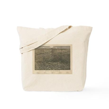Denver, Colorado 1887 Tote Bag