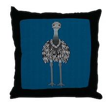 Emu Throw Pillow