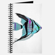 Tribal Blue Angel Fish Journal