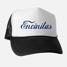 Encinitas (cursive) Trucker Hat