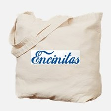Encinitas (cursive) Tote Bag
