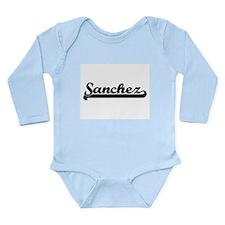 Sanchez surname classic retro design Body Suit