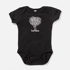 hot mess2_no back Baby Bodysuit