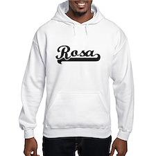 Rosa surname classic retro desig Hoodie Sweatshirt