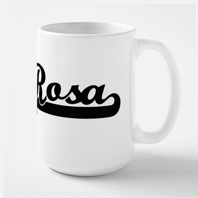 Rosa surname classic retro design Mugs