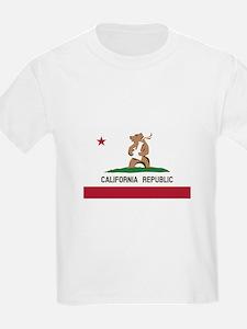 California Bong Bear Flag T-Shirt
