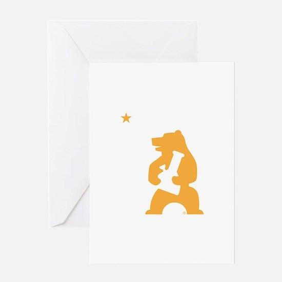 California Smoking Bear Greeting Cards