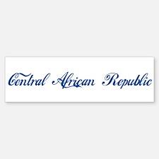 Central African Republic (cur Bumper Bumper Bumper Sticker