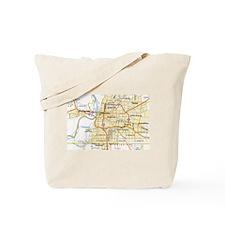 Memphis Map Tote Bag