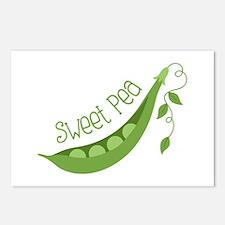 Sweet Pea Postcards (Package of 8)