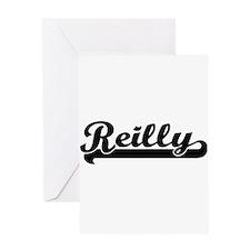 Reilly surname classic retro design Greeting Cards