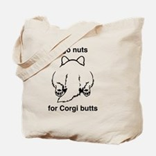 Cute Corgi butt Tote Bag