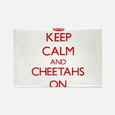 Keep calm and Cheetahs On Magnets