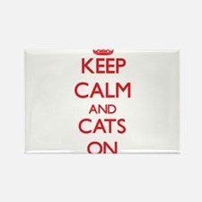 Keep calm and Cats On Magnets