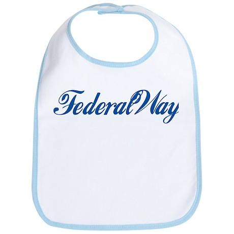 Federal Way (cursive) Bib