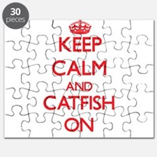 Keep calm and Catfish On Puzzle