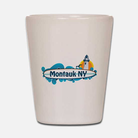 Montauk - Long Island. Shot Glass