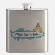 Montauk - Long Island. Flask