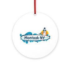 Montauk - Long Island. Ornament (Round)