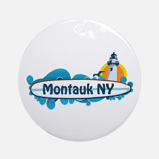 Montauk - Long Island. Ornament (Round)