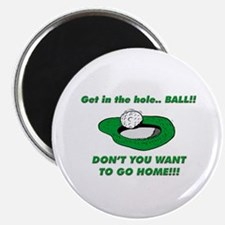 GET IN THE HOLE BALL !!! Magnet
