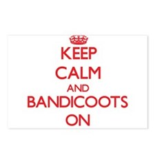 Keep calm and Bandicoots Postcards (Package of 8)