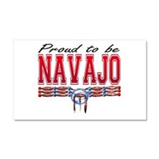 Proud to be Navajo Car Magnet 12 x 20