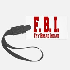 Frybread Indian Luggage Tag