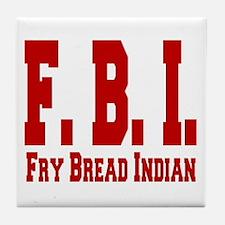 Frybread Indian Tile Coaster