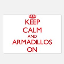 Keep calm and Armadillos Postcards (Package of 8)