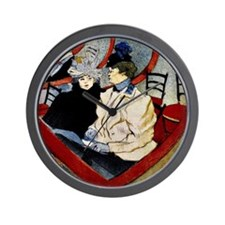 Toulouse-Lautrec - Box in the Grand Tie Wall Clock