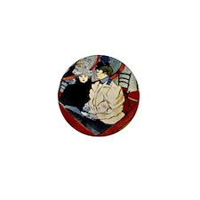 Toulouse-Lautrec - Box in the Grand Ti Mini Button