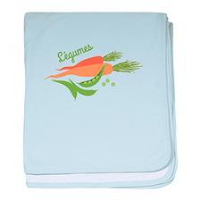 Legumes baby blanket
