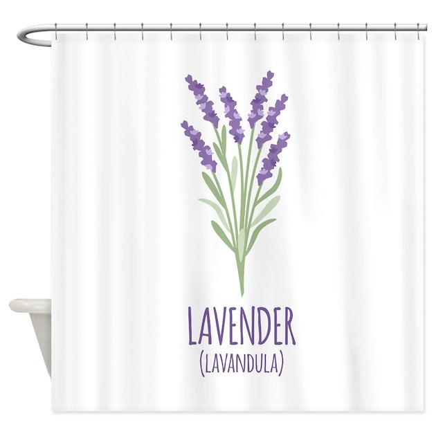 Lavender Shower Curtain by Hopscotch18