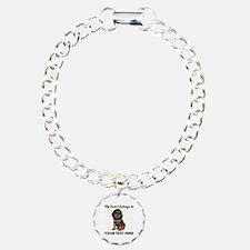 Custom Gordon Setter Bracelet