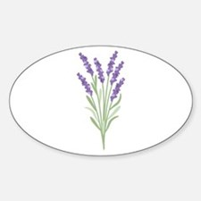 Lavender Flower Decal