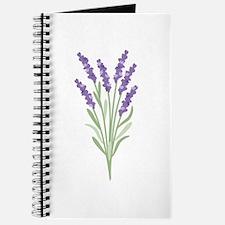 Lavender Flower Journal