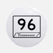 State Route 96, Tennessee Ornament (Round)