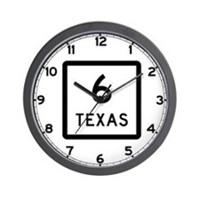 State Highway 6, Texas Wall Clock