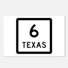 State Highway 6, Texas Postcards (Package of 8)